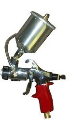 American Turbine HVLP 226XX 13.5 oz. Gravity Gun. with Choice of Fluid Set 226XX