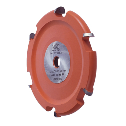 "CMT Cove Cutter Head  235.006.07  - 7"" diameter, 5/8"" arbor, 6 carbide teeth (Cutter head only)"
