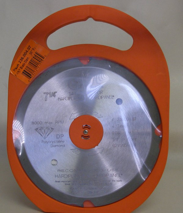 CMT 236.004.07 PCD Blade for Fiber Cement Products 236.004.07