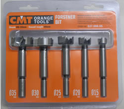 CMT 5-Piece Forstner Set 537.000.05