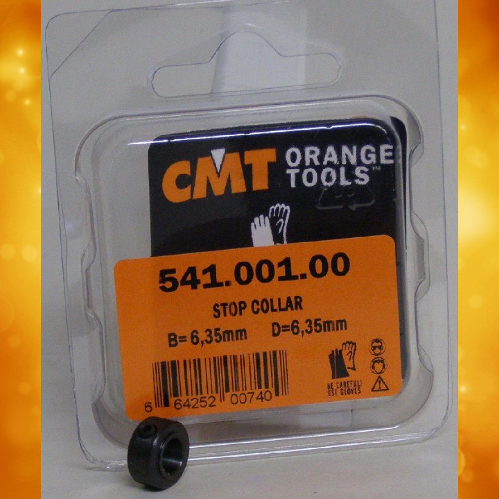 "CMT Stop Collars for 1/4"" Shanks 541.001.00"