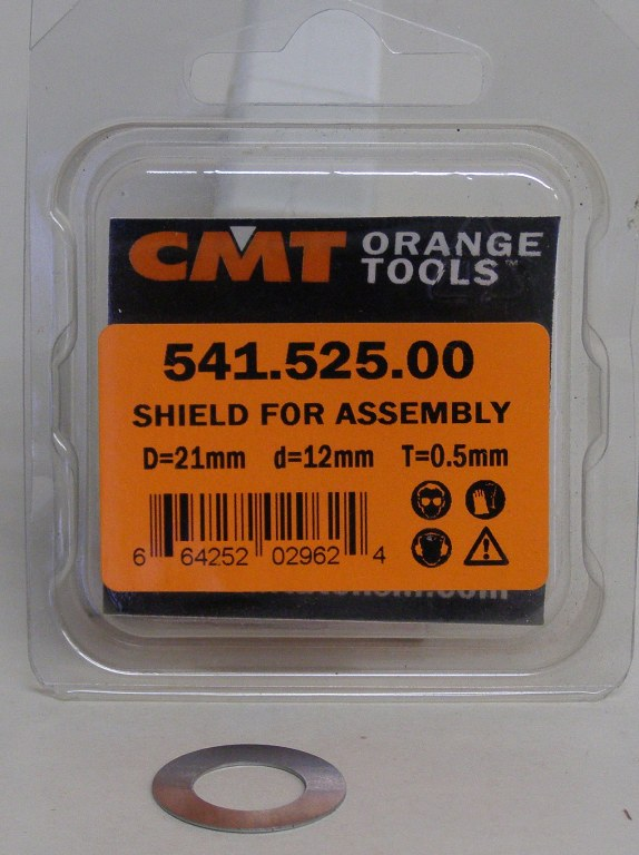CMT Shield for  Assembly D=21mm d=12mm T=0.5mm 541.525.00 541.525.00