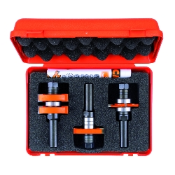 CMT Adjustable Tongue & Groove Bit Set for Mission Style Cabinet Doors 800.626.11 800.625.11