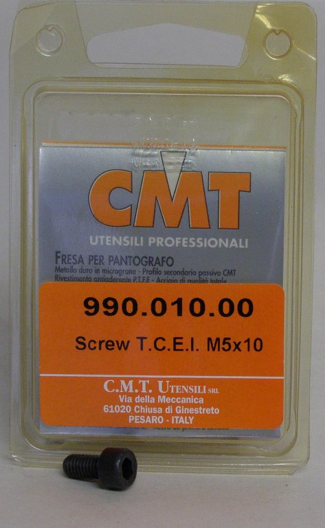 CMT Screw for bearing, M5 thread 990.010.00