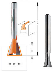 "CMT Dovetail Router Bit 818.128.11  1/2"" Diameter, 14º, 1/4"" Shank, for Incra Jig"