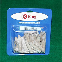 P-Map Kreg Maple Pocket Hole Plugs (50 Count) P-MAP