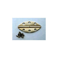 Lamello Duplex Hinges 20 Brass, (10 Left and 10 Right)  166003