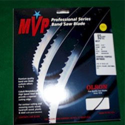 "Olson 93-1/2"" MVP Band Saw Blade 1/2"" x .025"" 3TPI Hook*  MVP82393"