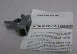 Delta Tool Part 430-02-355-0005 Delta Cross Head 430-02-355-0005