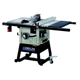 Delta 10 in. Left Tilt Table Saw 36-5100 30 in Rip Capacity with Cast Wings 36-5100