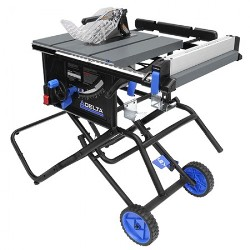 Delta 36-6020 Portable Table Saw with Stand 36-6020