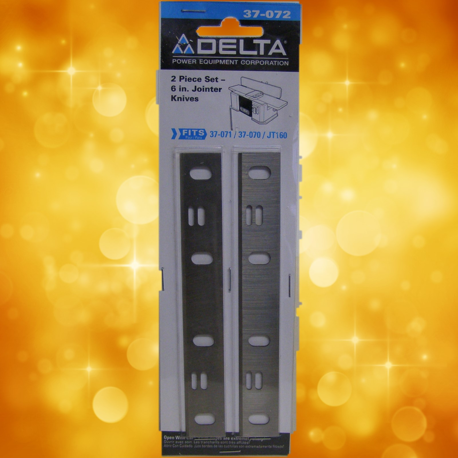 "Delta 6"" Jointer Knives-Package of 2 37-072"