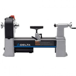 "Delta 12-1/2"" Variable-Speed MIDI-LATHE 46-460"