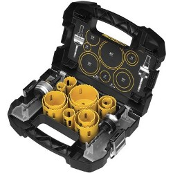 DeWalt Hole Saw Kit D180005 DeWalt 14 Piece Master Hole Saw Set D180005