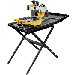 "DeWalt D24000S 10"" Wet Tile Saw with Stand D24000S"