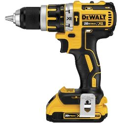 DeWalt Hammer Drill Kit DCD795D2 20V MAX* XR Lithium Ion Brushless Compact Hammerdrill Kit DCD795D2