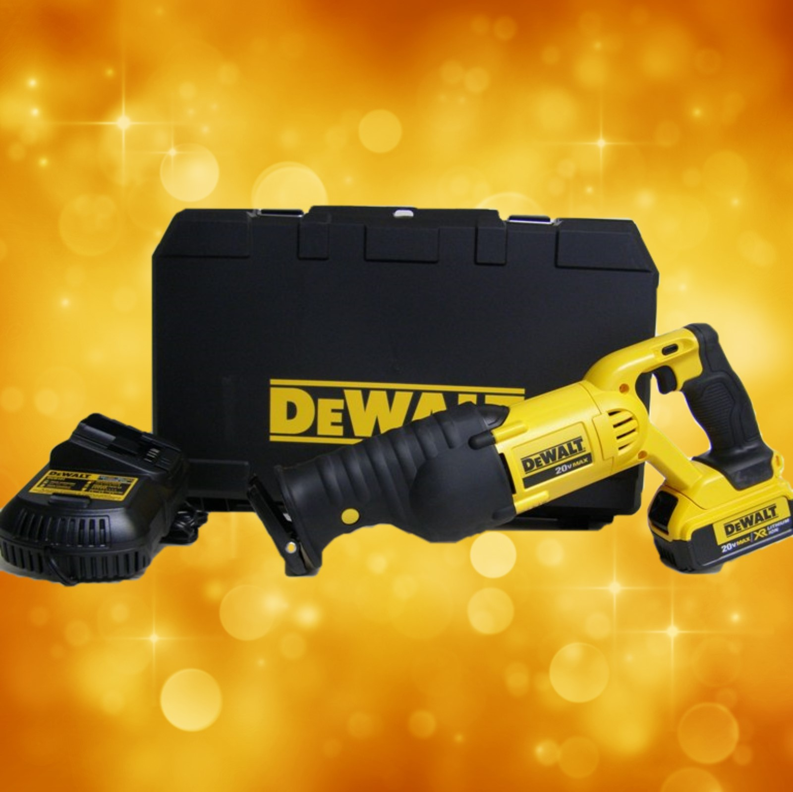 DeWalt 20V MAX RECIPROCATING SAW KIT(4.0 AH) DCS380M1 DCS380M1