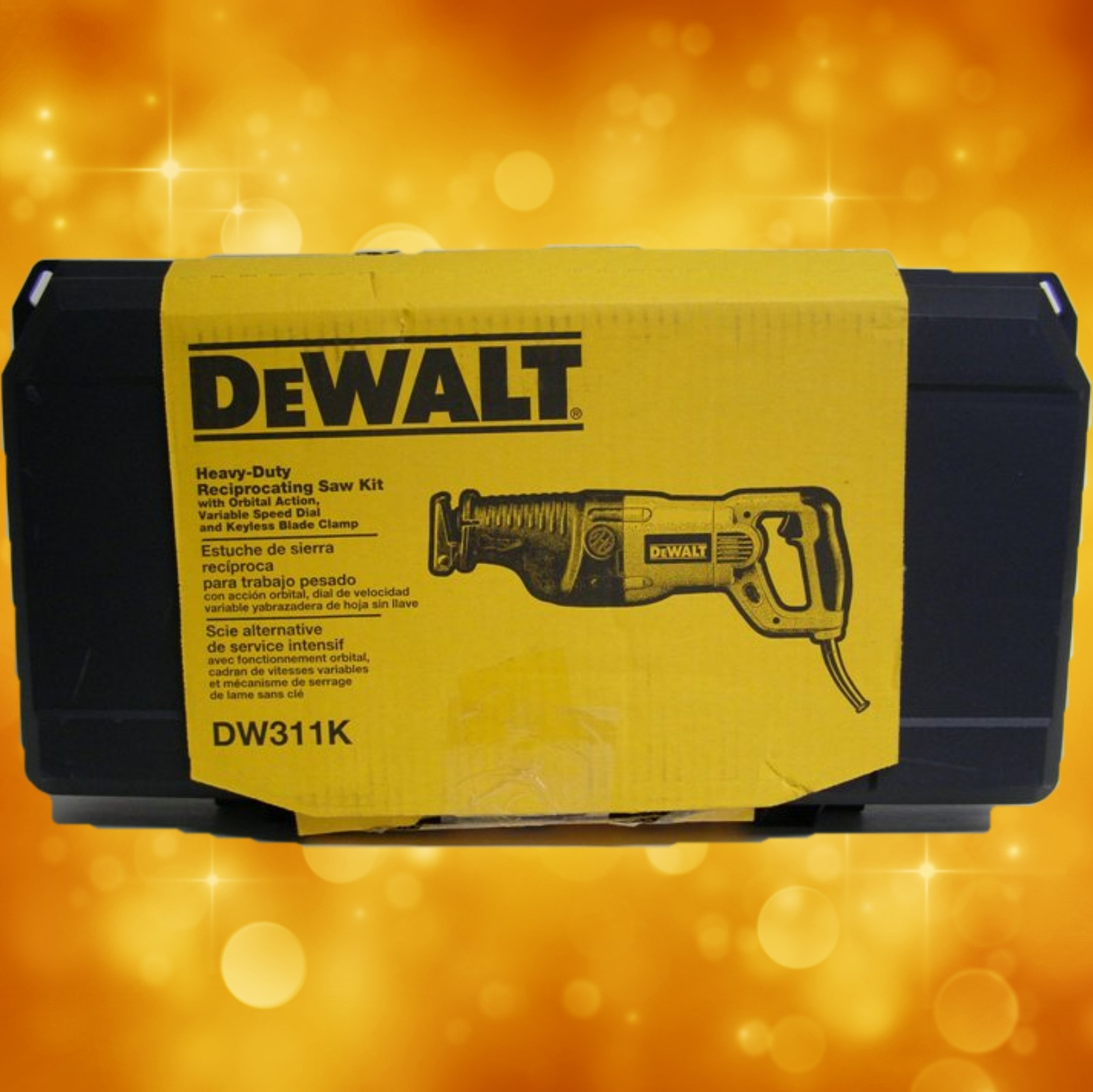 DeWalt Orbital  Reciprocating Saw  Kit DW311K