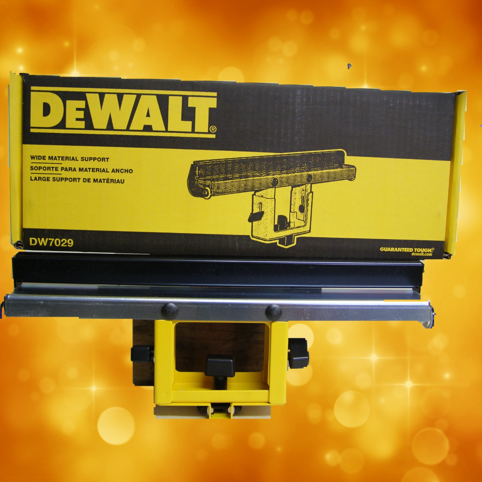 DeWalt DW7029 Wide Miter Saw Stand Material Support and Stop DW7029