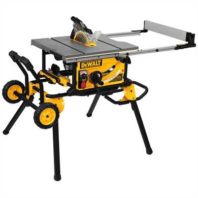 "DeWalt DWE7499GD 10"" Jobsite Table Saw with Guard Detect, DWE7499GD"