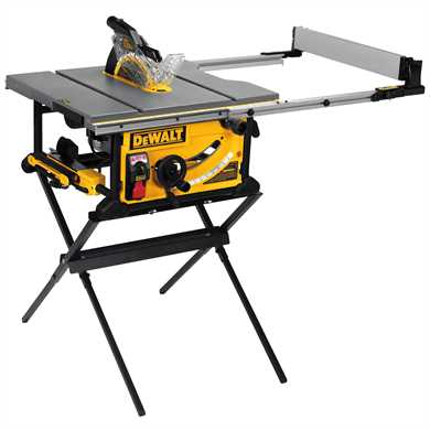 "DeWalt DWE7499GD 10"" Jobsite Table Saw with Guard Detect,