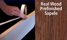 "FastCap FastEdge Edge Banding Tape 15/16"" 50 ft Roll Solid Finished Wood (Sapele)"