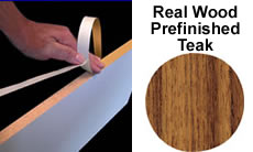 "FastCap Edge Banding Tape FE.PW.15/16-50.TK FastCap FastEdge Edge Banding Tape 15/16"" 50 ft Roll Solid Finished Wood (Teak)"