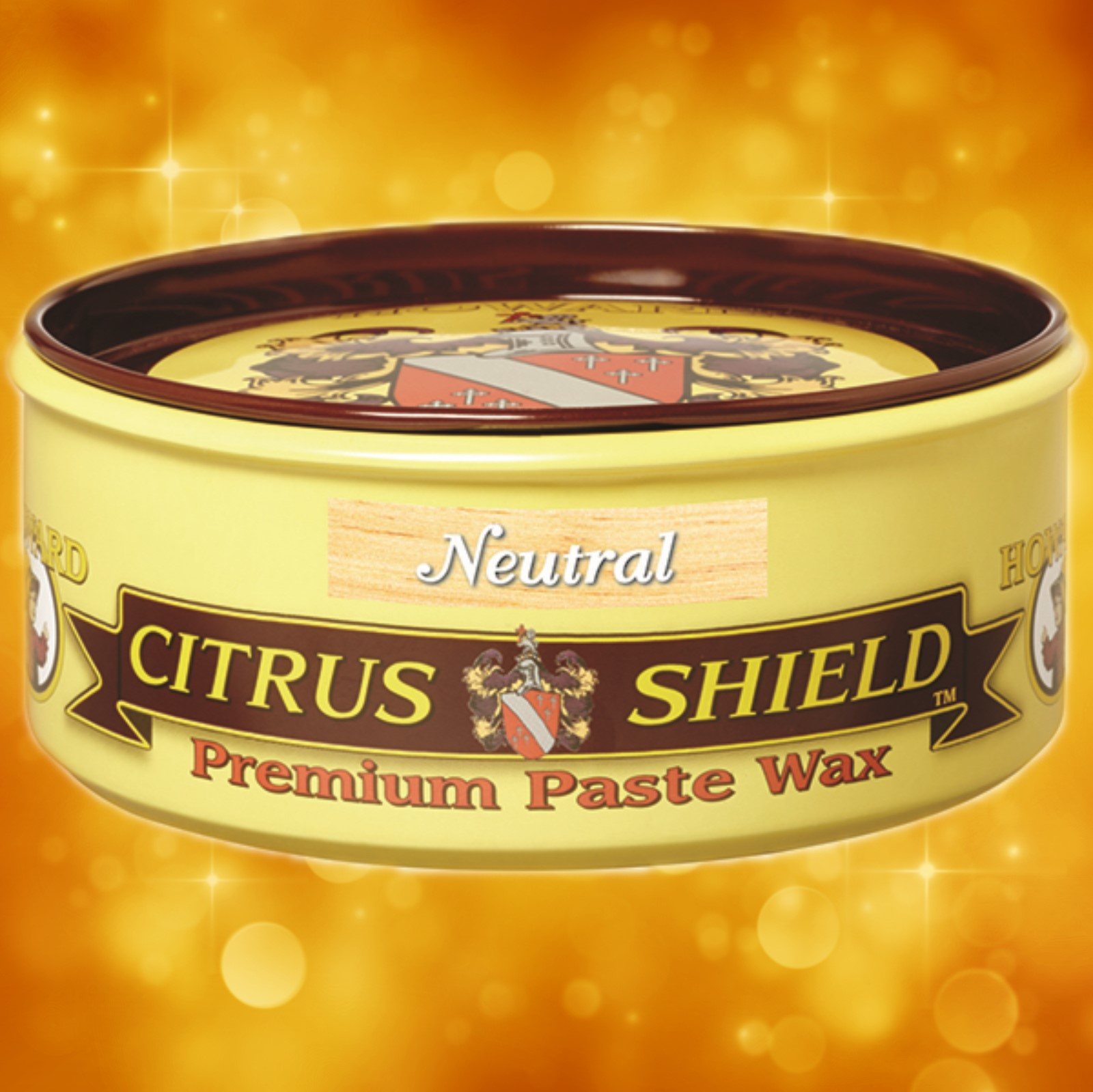 Howard's Citrus Shield Premium Natural Paste Wax CS0014 Howard's Citrus Shield Premium Natural Paste Wax (Natural) CS0014