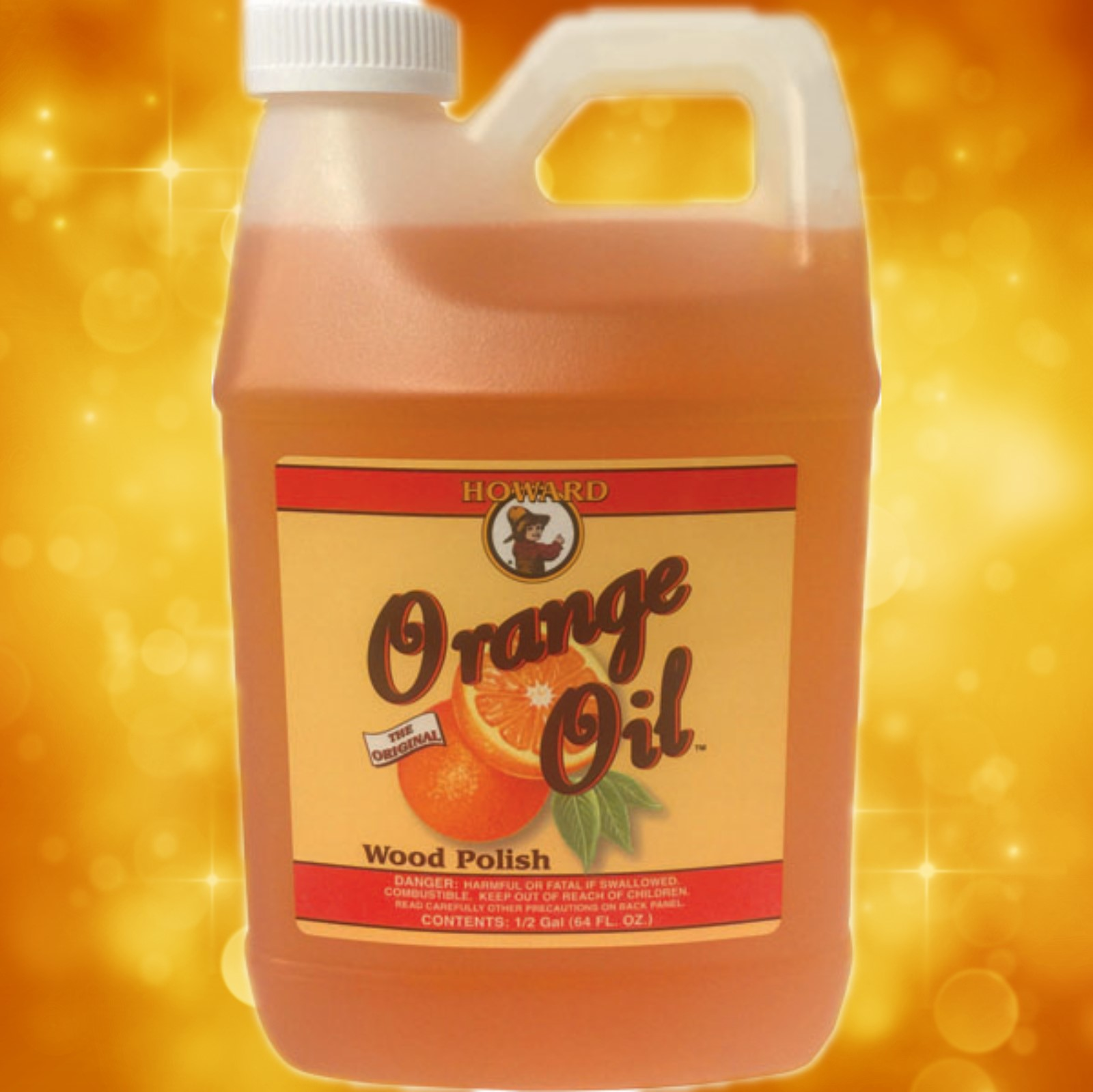 Howard's Orange Oil 64oz. (1/2 Gal.) OR0064