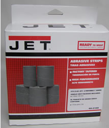 Jet Sand Paper 60-2100 Ready-To-Wrap Abrasives, 100 grit, 3-wraps in Box for 22-44 60-2100
