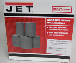 Jet Sand Paper 60-6060 Ready-To-Wrap Abrasives, 60 grit, 4-wraps in Box for 16-32 60-6060