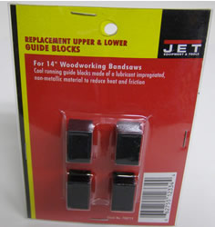 Jet Tool Part 708719 Blade Block (Set of 4) for 14-Inch Band Saw 708719