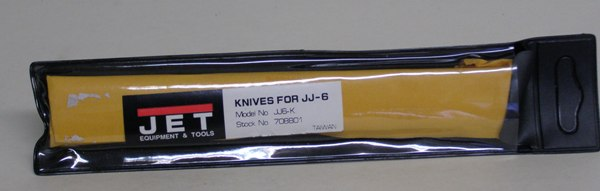 "Jet JJ6-K Jointer Knives 6"" Jet/Pow 708801"