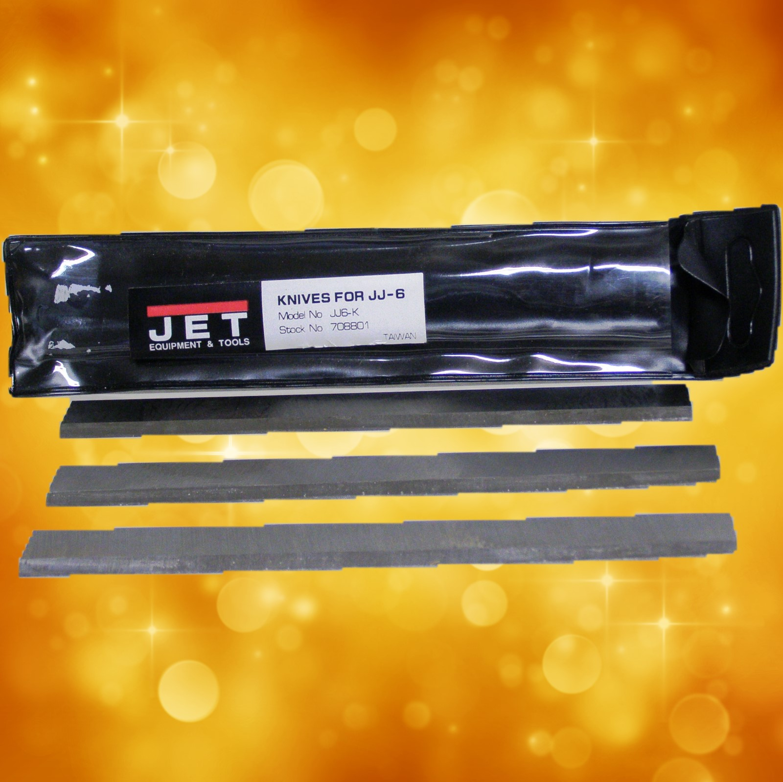 "Jet  J6-KQC ST 6"" Jointer Knife( PJ) (TEXT) 708801DX"