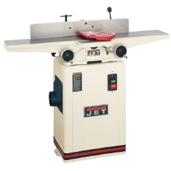 "Jet JJ-6CSX, 6"" Closed Stand Jointer, 1HP, 1Ph, Two Way Tilting Fence"