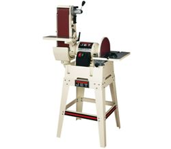 "Jet  JSG-6DCK, 6"" x 48"" Belt / 12"" Disc Sander with Open Stand 708599K"