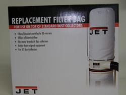 Jet 30 Micron Top Filter Bag for DC-1100A/DC-1200/DC-1200A 708698