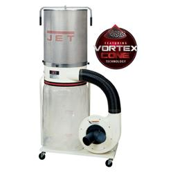 Jet 710702K DC-1200VX-CK1 Dust Collector, 2HP 1PH 230V, 2-Micron Canister Kit 710702K