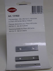 Lamello Cantex 131822 Cantex Reversible Carbide Knives (set of 3) 131822