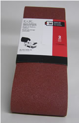 "Porter Cable Sanding Belt 4"" x 24"" - 50 Grit (2 pack)"