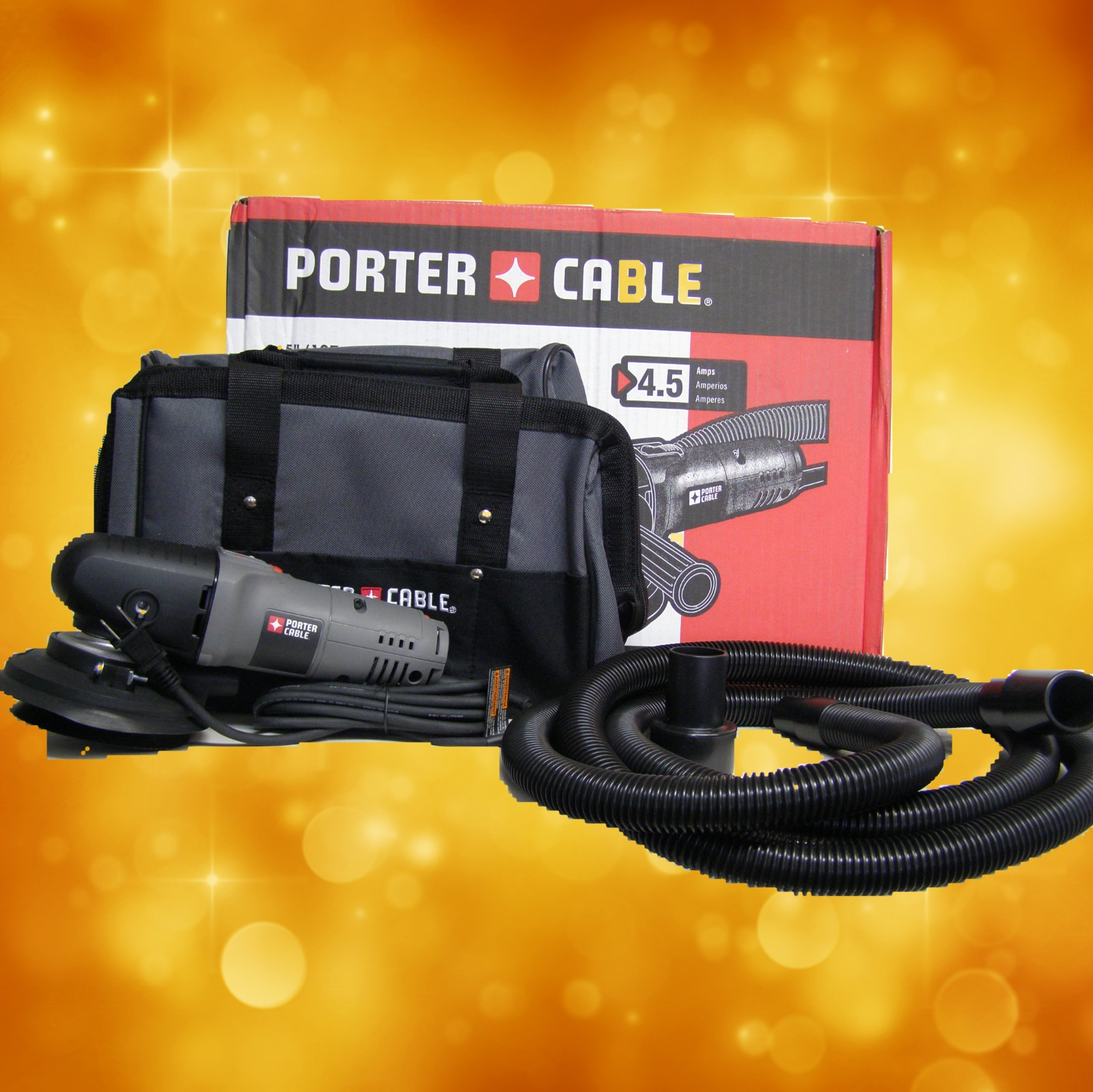"Porter Cable 5"" Variable-Speed Random Orbit Sander"