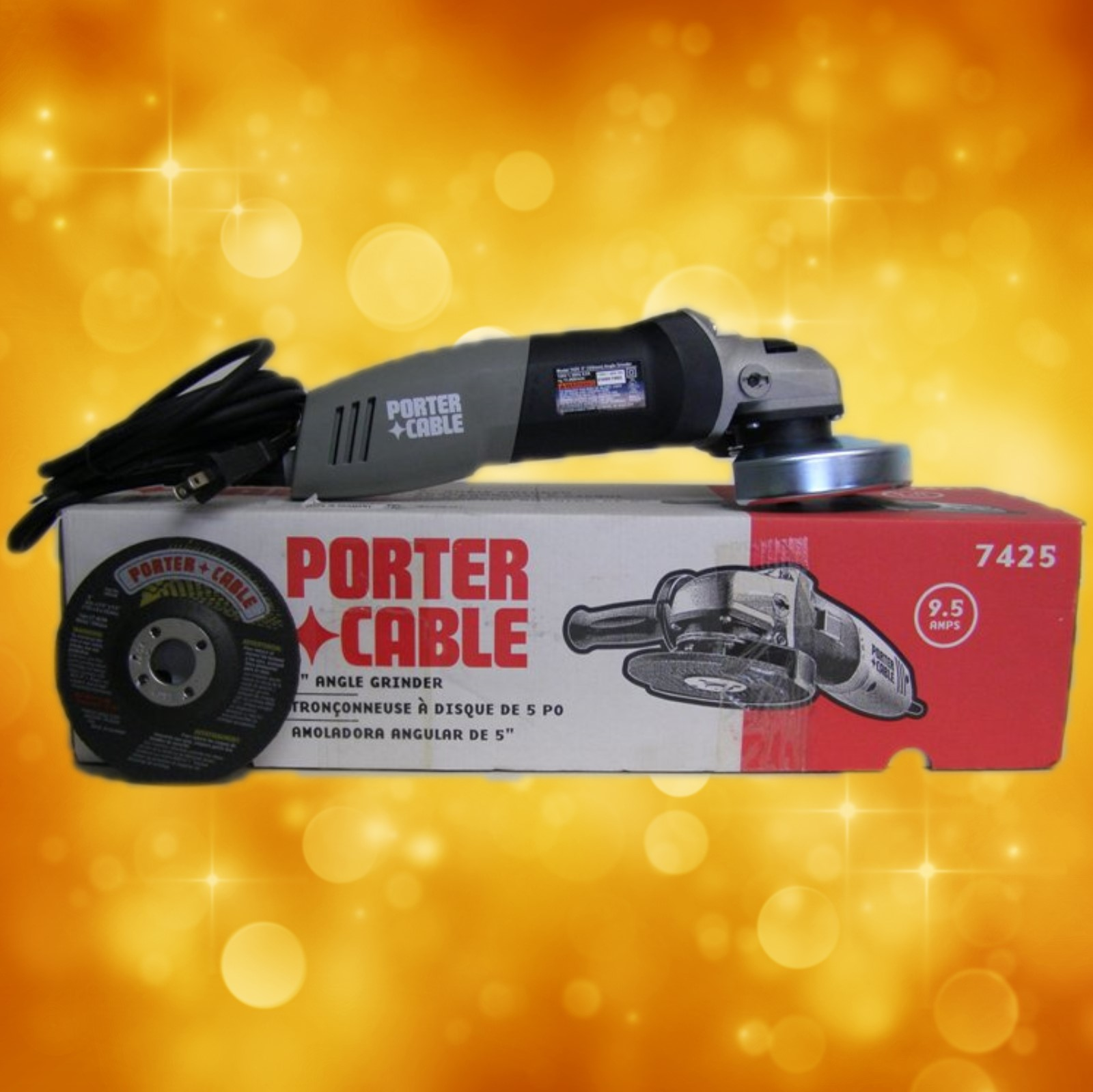 "Porter Cable Angle Grinder 7425 Porter-Cable 5"" Angle Grinder 7425"