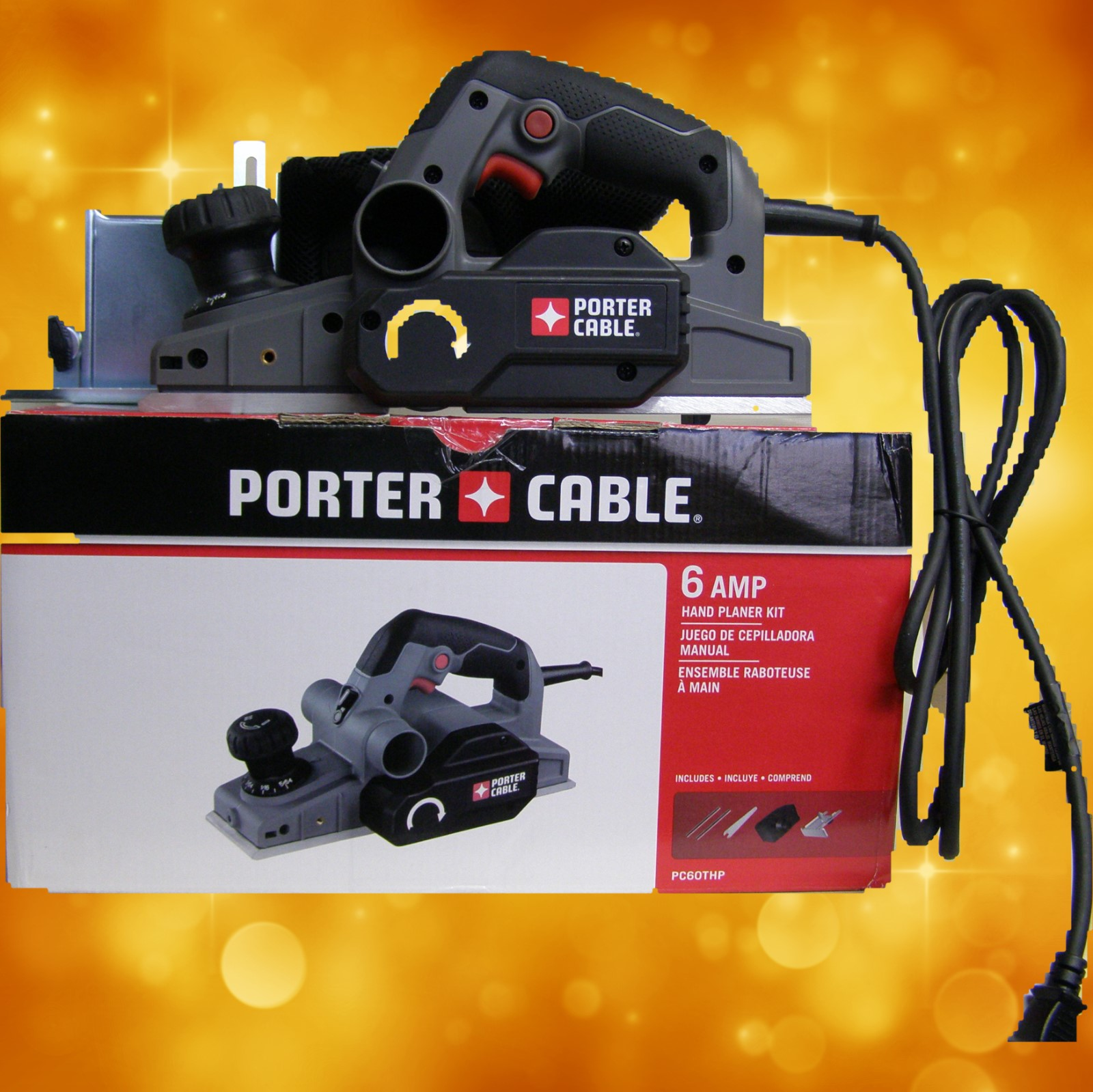 Porter Cable PC60THP 6 Amp Hand Planer PC60THP