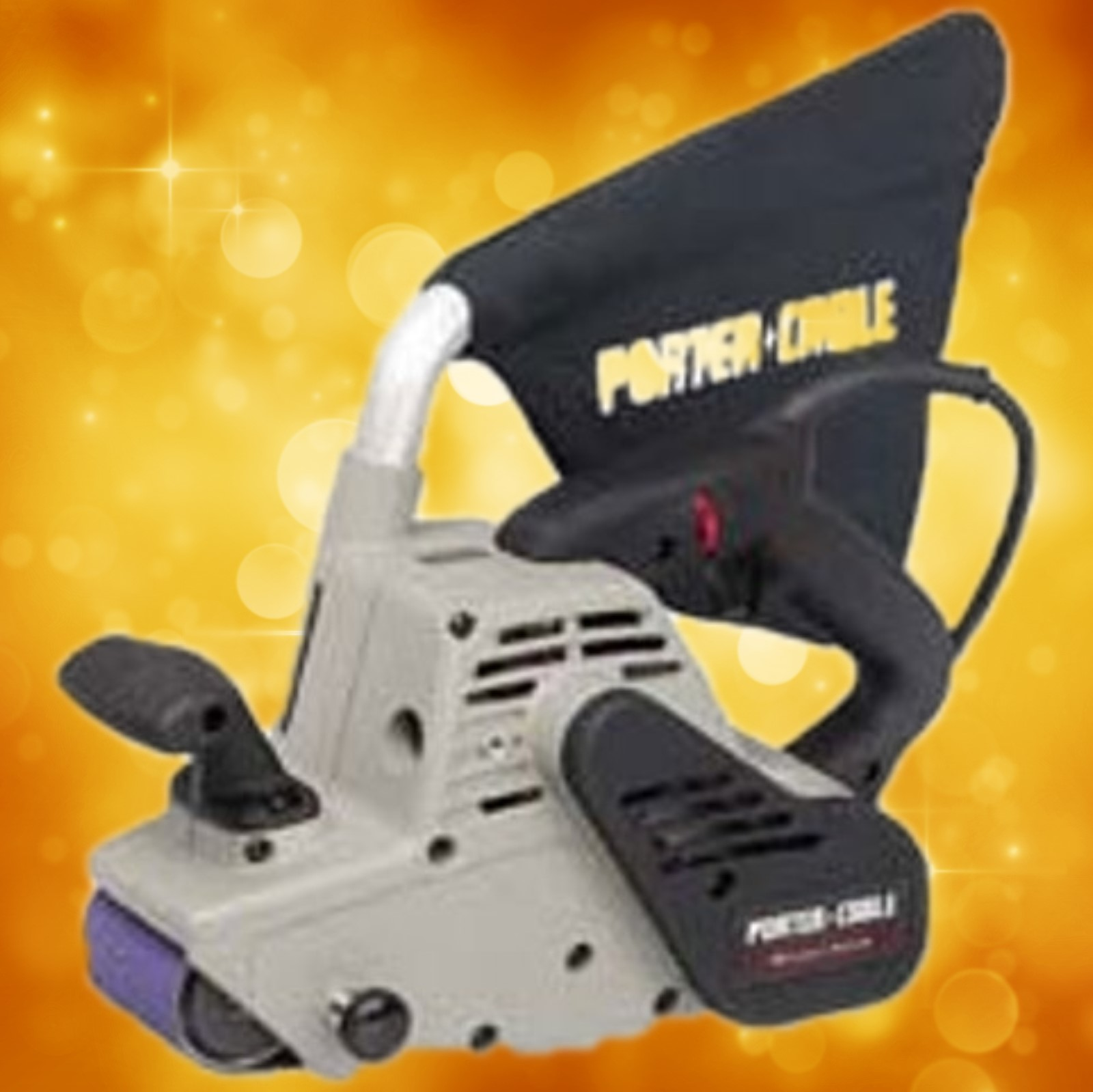 "Porter-Cable 3"" x 24"" Belt Sander With Dust Pick-Up 360"