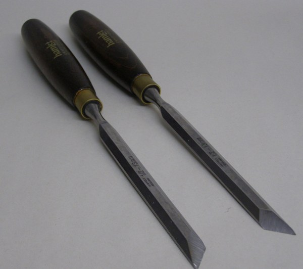 Hamlet Skew Chisels (pair)  Left and Right 680-4808 680-4808