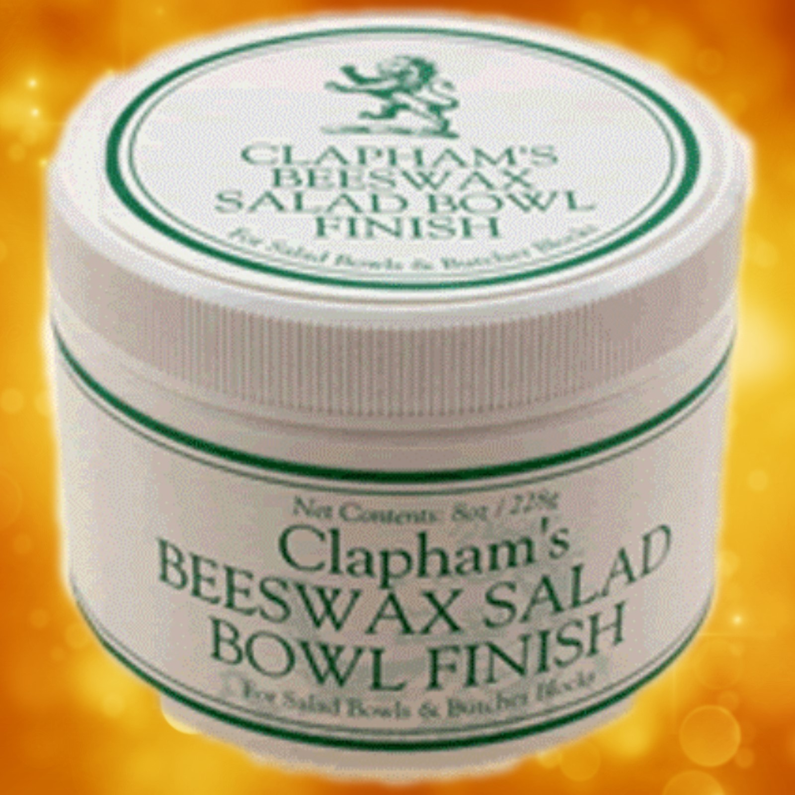 Clapham's Beeswax Salad Bowl Finish 870-3008 Clapham's Beeswax Salad Bowl Finish 870-3008