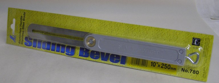 "Shinwa 10"" Sliding T-Bevel Gauge 730-3010