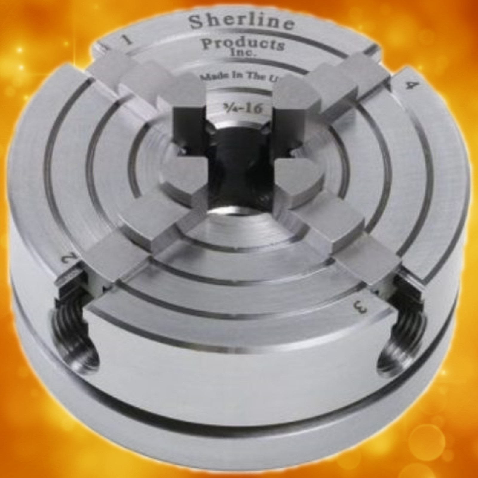 Sherline 4-Jaw Chuck  1030