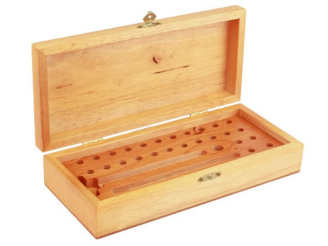 11660 Sherline WW COLLET WOOD BOX (INSERT ONLY) 11660