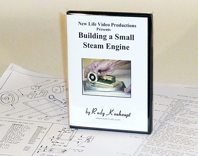 Sherline DVD 5328-DVD Steam Engine Video with Plans 5328-DVD